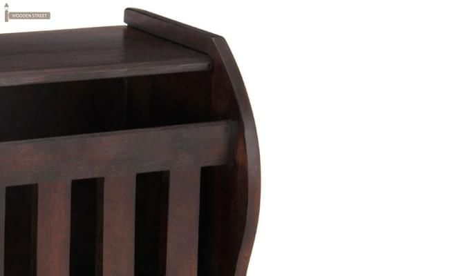 Xavier Magazine Rack (Mahogany Finish)-6