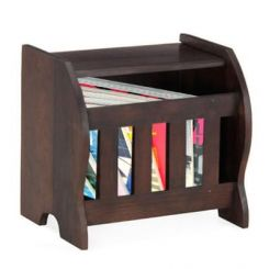 Xavier Magazine Rack (Mahogany Finish)