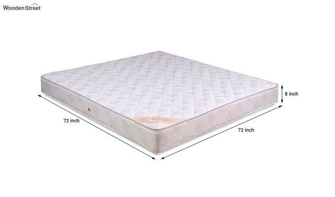 Dreamer Bonnell Spring Mattress (8 inch, King, 72 x 72)-6