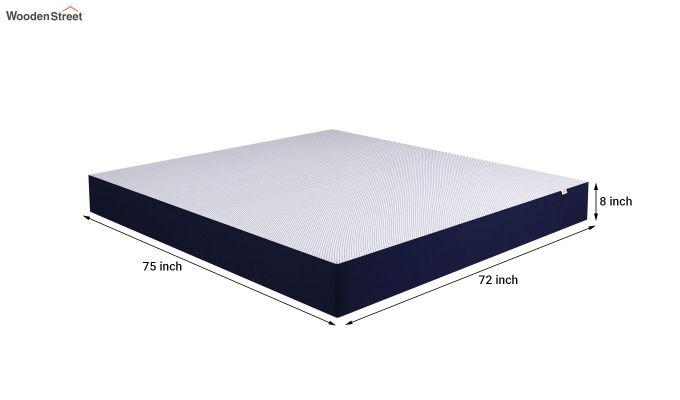 Dreamer Dual Comfort Memory Foam Orthopaedic Mattress (8 inch, King, 75 x 72)-6