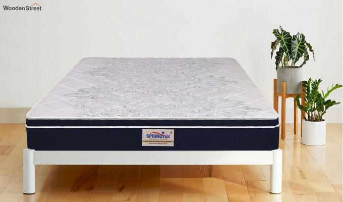 Euro Top Luxe Memory Foam Pocket Spring Mattress (10 inch, Single, 78 x 36)-1
