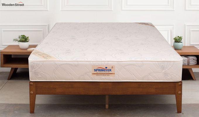 Memory Foam Bonded Foam Orthopaedic Mattress (4 inch, Queen, 72 x 60)-1
