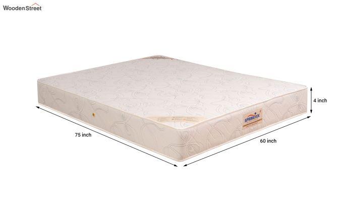 Memory Foam Bonded Foam Orthopaedic Mattress (4 inch, Queen, 75 x 60)-7