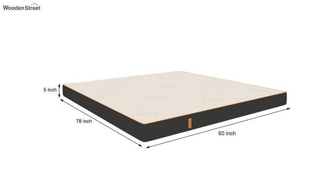 Penguin Eris 5 inch Ultra Comfort Mattress (Queen Size,Steel Grey)-9