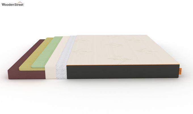 Penguin Eris 6 inch  Memory Foam  Mattress (King Size,Steel Grey)-7