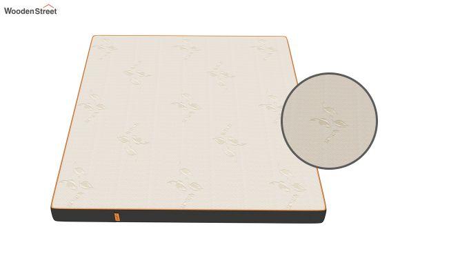 Penguin Eris 6 inch  Memory Foam  Mattress (King Size,Steel Grey)-6