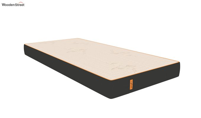 Penguin Eris 6 inch  Memory Foam  Mattress (Steel Grey)-1