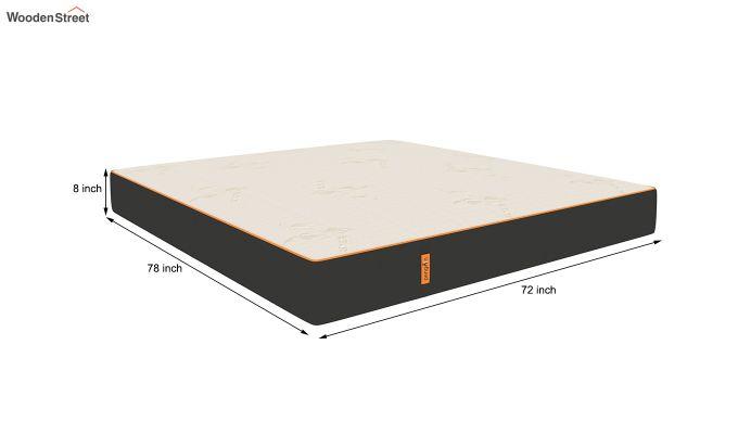 Penguin Eris 8 inch Cool Gel Memory Foam Luxury Mattress (King Size,Steel Grey)-9