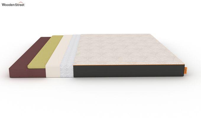 Penguin Fall 5 inch Soft Foam Queen Size Luxury Mattress (Queen Size,Steel Grey)-7