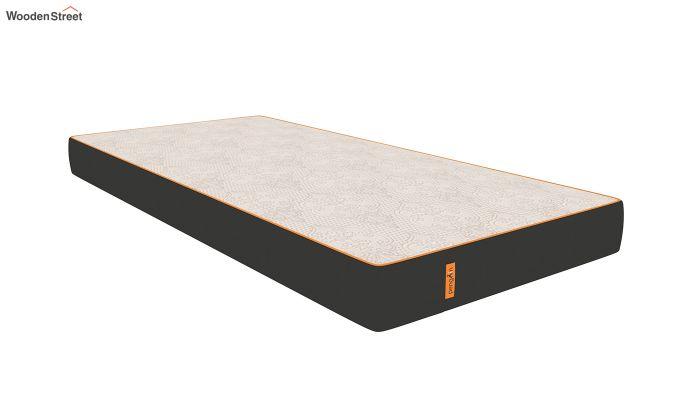 Penguin Fall 6 inch Soft Memory Foam Single Size Luxury Mattress (Steel Grey)-1