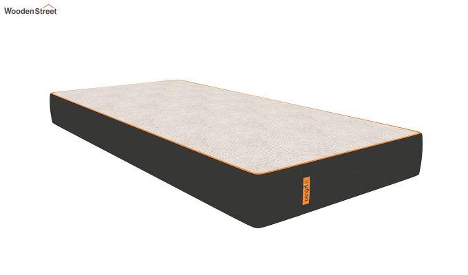 Penguin Fall 8 inch Cool Gel Memory Foam Single Size Luxury Mattress (Steel Grey)-1