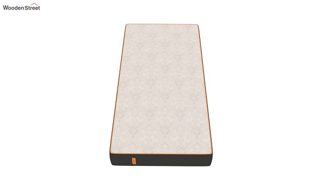 Penguin Fall 8 inch Cool Gel Memory Foam Single Size Luxury Mattress (Steel Grey)-2