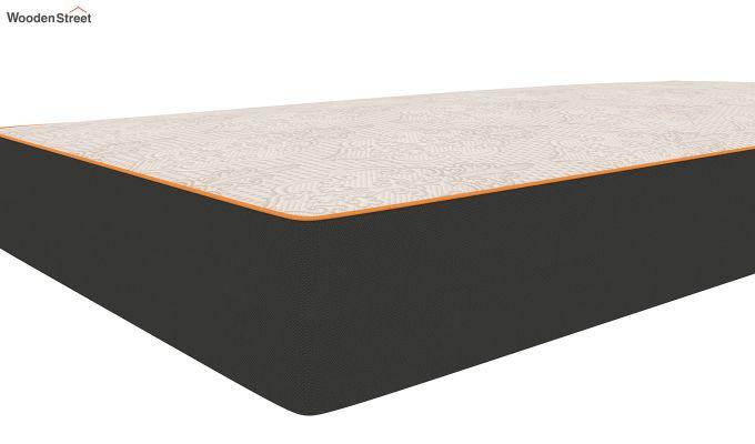 Penguin Fall 8 inch Cool Gel Memory Foam Single Size Luxury Mattress (Steel Grey)-3
