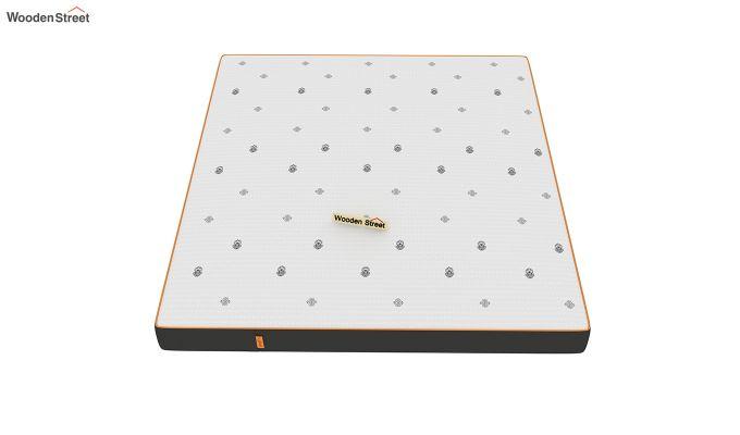 Penguin Motif 6 inch Soft Memory Foam King Size Luxury Mattress (King Size,Steel Grey)-3