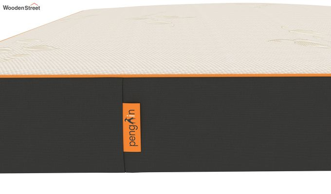 Penguin Orth 8 inch Dual Luxury Mattress (King Size,Steel Grey)-5
