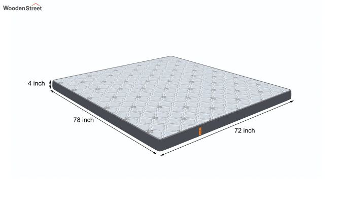 Penguin Ortho-Memory Mattress (4 inch, King Size, 78 x 72)-8