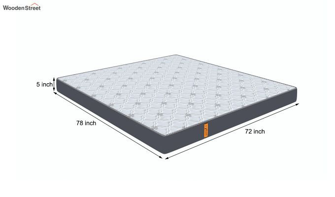Penguin Ortho-Memory Mattress (5 inch, King Size, 78 x 72)-8