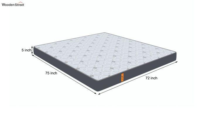 Penguin Ortho-Memory Mattress (5 inch, King Size, 75 x 72)-8