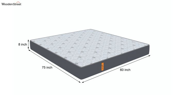 Penguin Ortho-Memory Mattress (8 inch, Queen Size, 75 x 60)-7