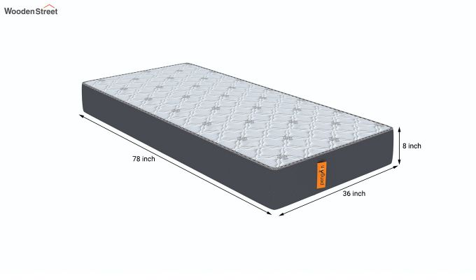 Penguin Ortho-Memory Mattress (8 inch, Single, 78 x 36)-8