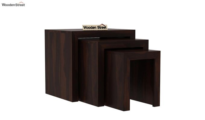 Arie Nest of Tables (Walnut Finish)-2
