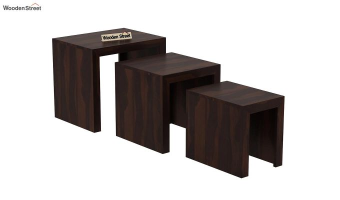 Arie Nest of Tables (Walnut Finish)-4