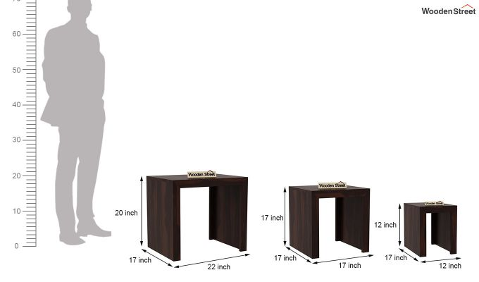 Arie Nest of Tables (Walnut Finish)-8