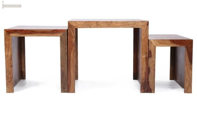 Arie Table Sets (Teak Finish)-3