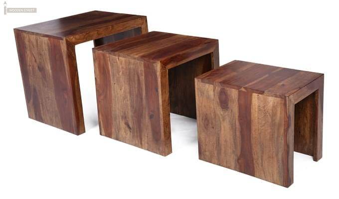 Arie Table Sets (Teak Finish)-4
