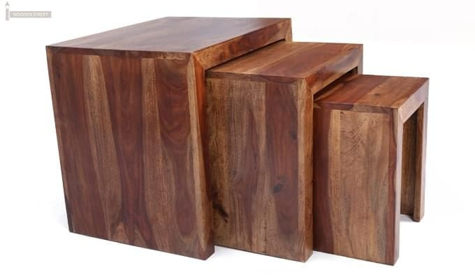 Arie Table Sets (Teak Finish)-6