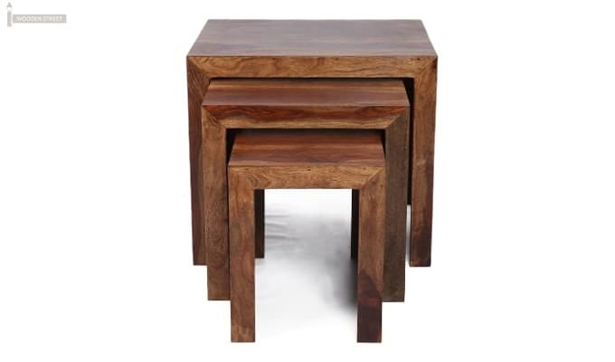 Arie Table Sets (Teak Finish)-7