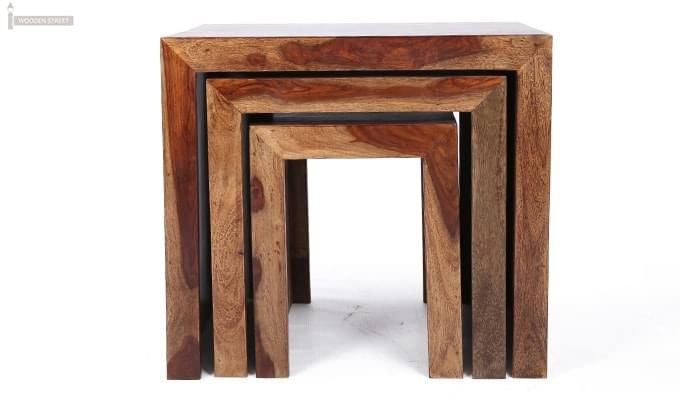 Arie Table Sets (Teak Finish)-8