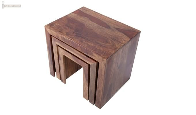Arie Table Sets (Teak Finish)-9