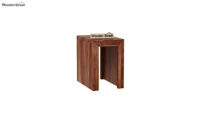 Axar Nest Of Tables (Teak Finish)-7