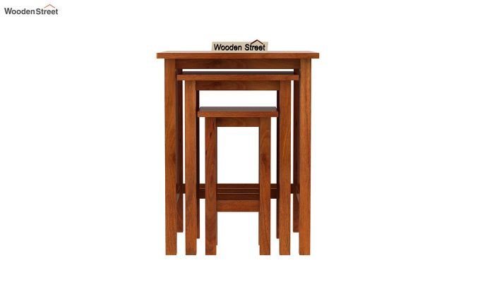 Ayotte Nest of Tables (Honey Finish)-3