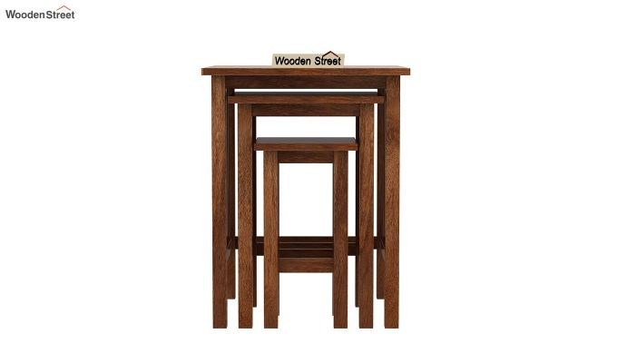 Ayotte Nest of Tables (Teak Finish)-3