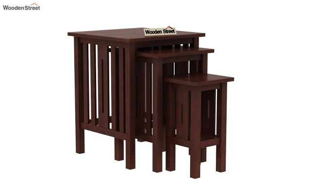 Ayotte Nest of Tables (Walnut Finish)-2