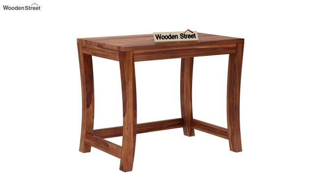 Boston Ivy Nest Of Tables (Teak Finish)-5