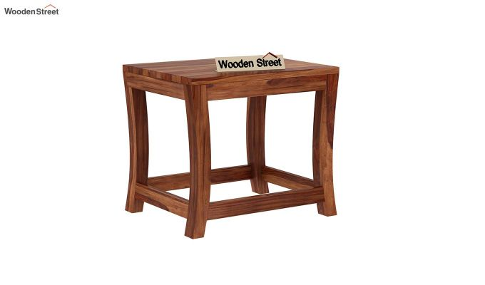 Boston Ivy Nest Of Tables (Teak Finish)-6
