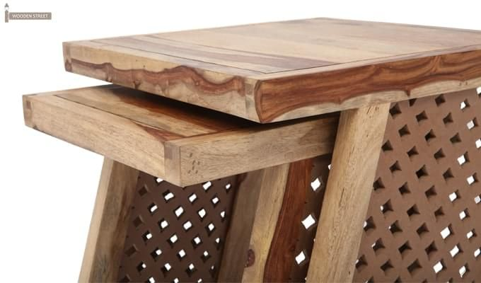Carl Nest Of Tables (Natural Finish)-11
