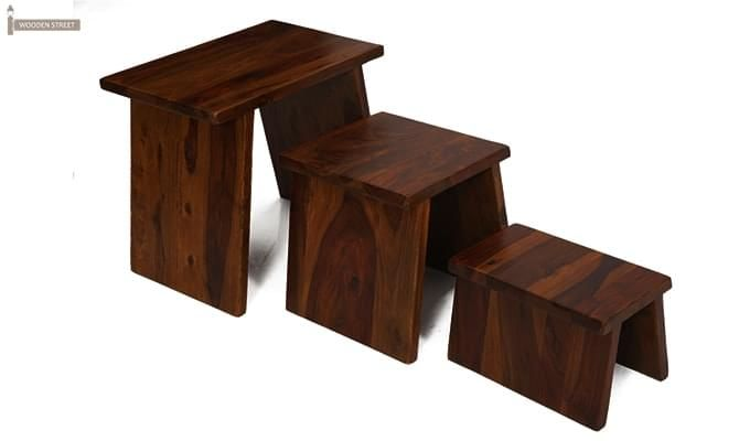 Flux Nest Of Tables (Mahogany Finish)-2