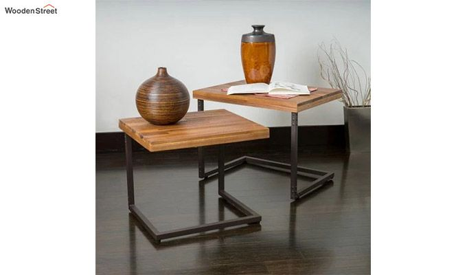 Hauritz Nest Of Tables (Teak Finish)-1