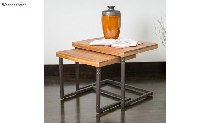 Hauritz Nest Of Tables (Teak Finish)-2