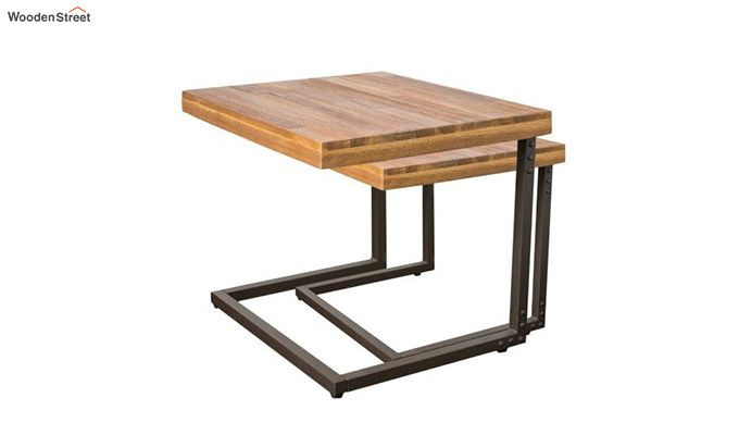 Hauritz Nest Of Tables (Teak Finish)-4