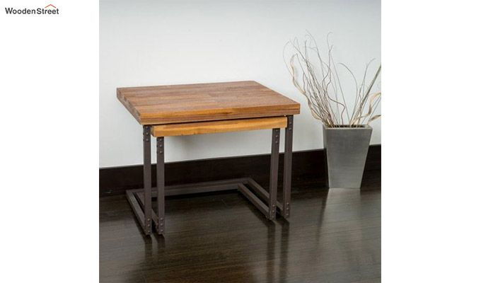 Hauritz Nest Of Tables (Teak Finish)-7