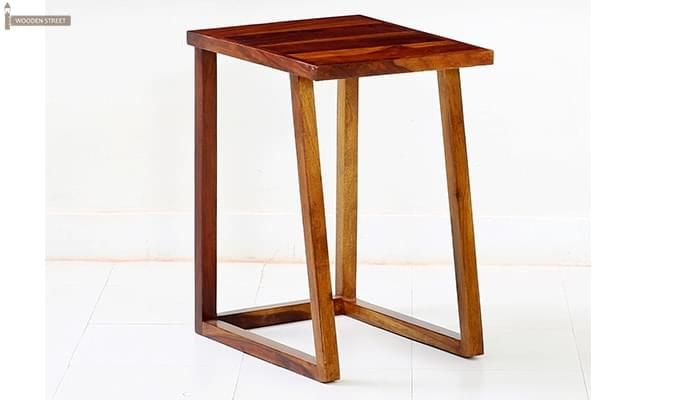 Heslov Nest of Tables (Teak Finish)-6