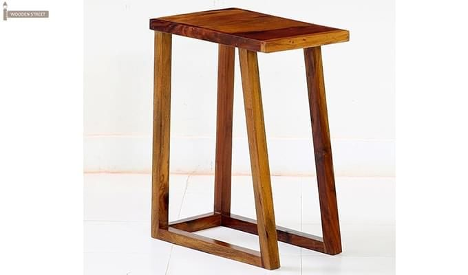 Heslov Nest of Tables (Teak Finish)-7