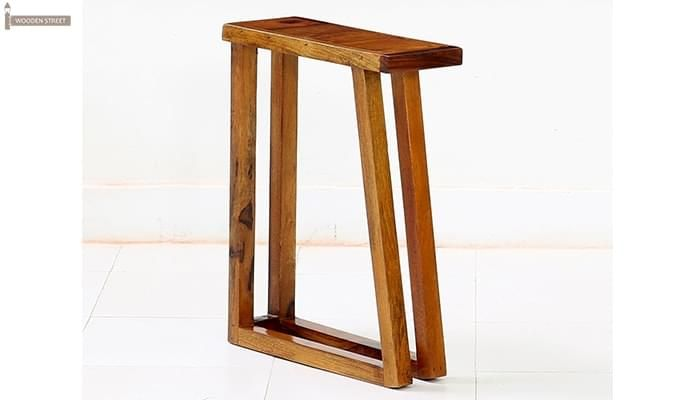 Heslov Nest of Tables (Teak Finish)-8