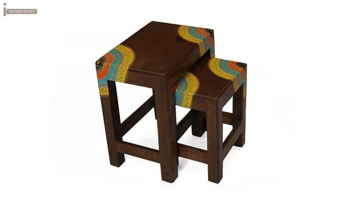Kline Nest Of Tables (Mahogany Finish)-2