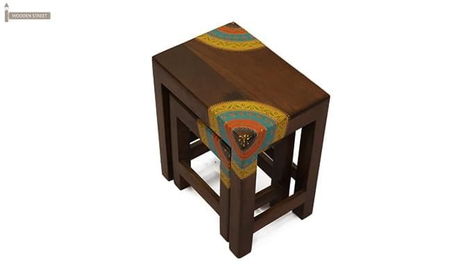 Kline Nest Of Tables (Mahogany Finish)-3